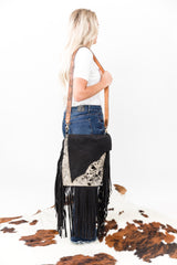 Honky Tonk Sweetheart Hide Fringe Purse