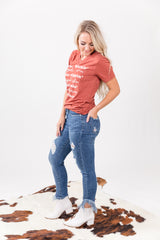 The Patsy Fray Denim Skinny Jeans