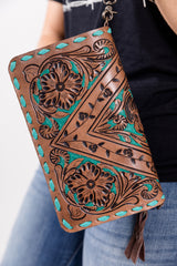 Turquoise Queen Wallet And Coin Purse