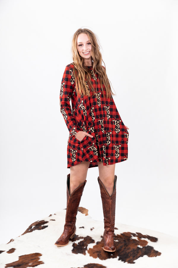 Holiday Hunt Season Dress