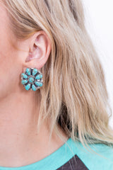 Tiffany Turquoise Sterling Silver Post Studs