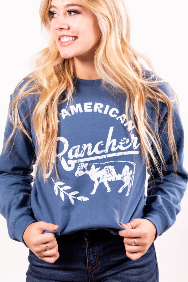 All American Rancher Sweatshirt