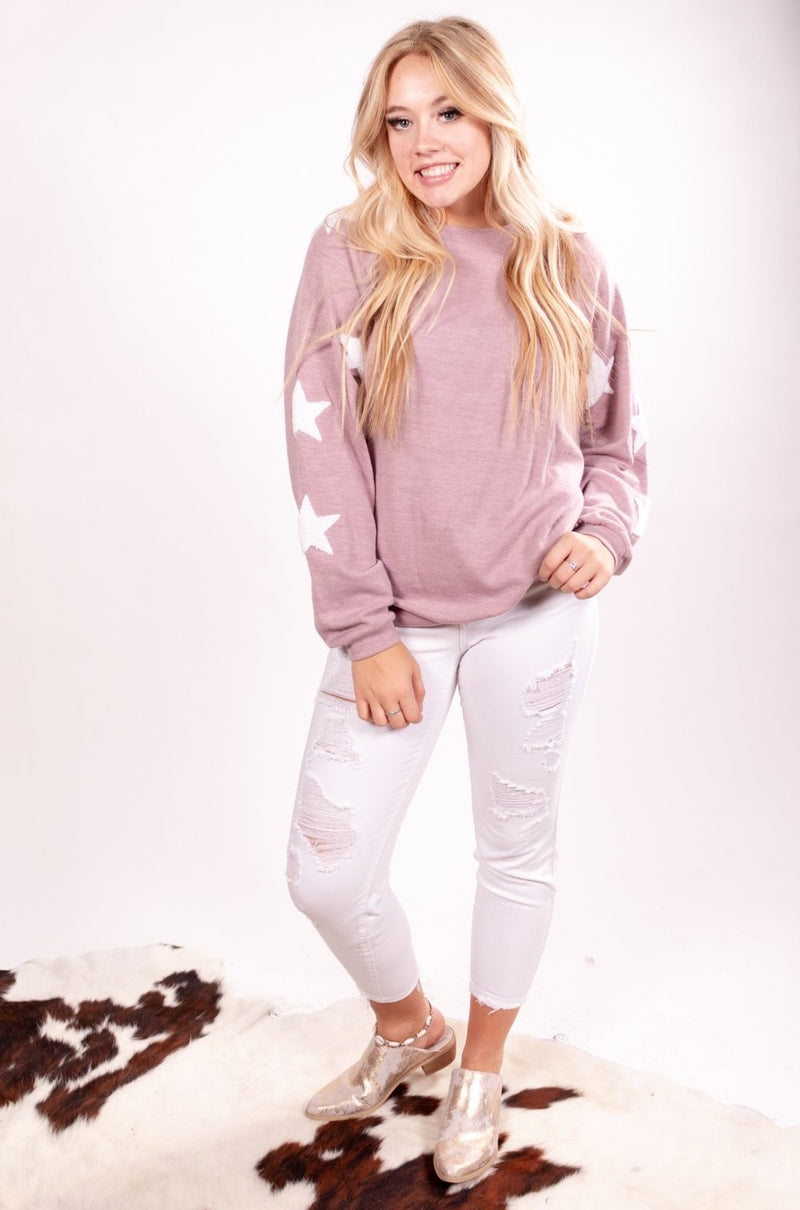 Star Bright Long Sleeve Top