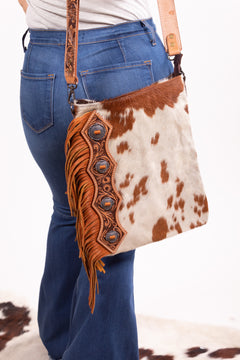 The Hide Out Rodeo Queen Leather Fringe Purse
