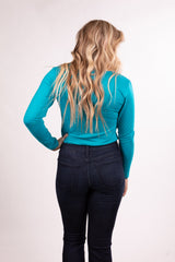 Jade Long Sleeve Body Suit Top