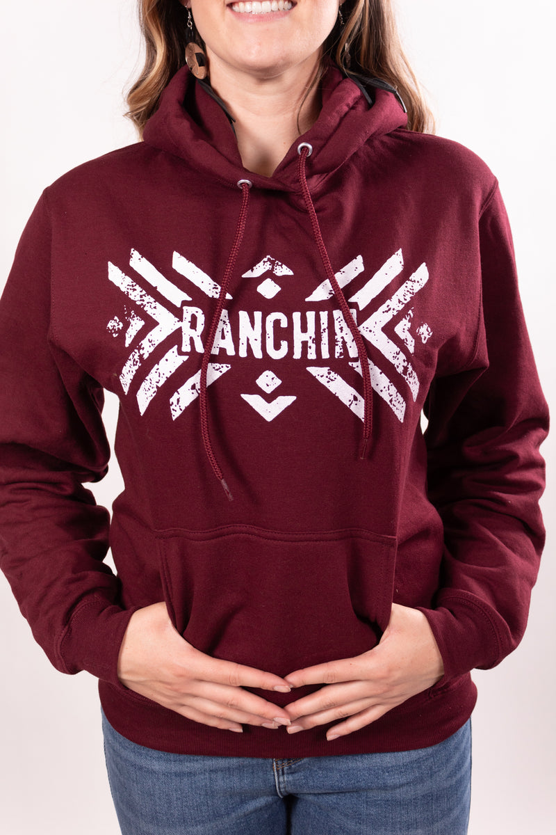 The Ranchin' Maroon Hoodie
