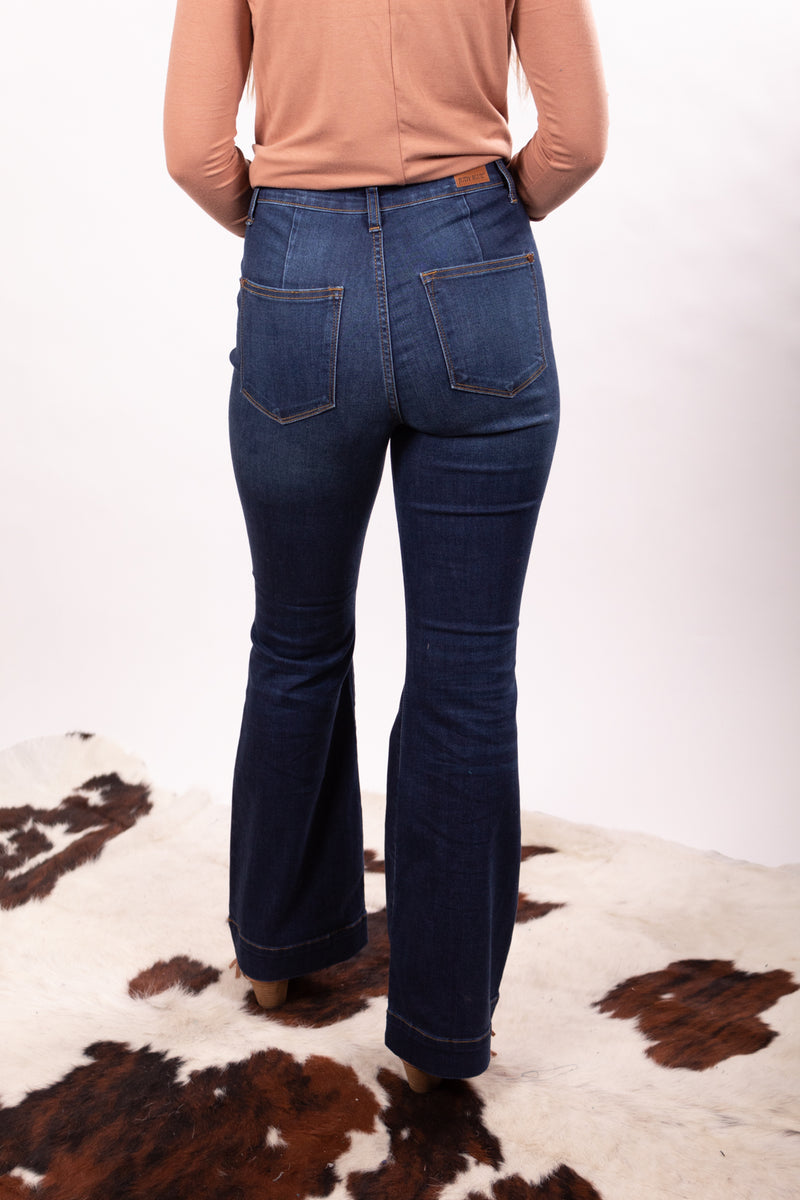 The Edna Fitted Trouser Jeans