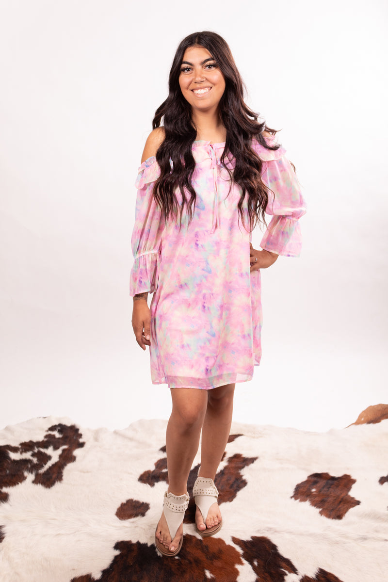 Spring Fling Tie Dye Dress