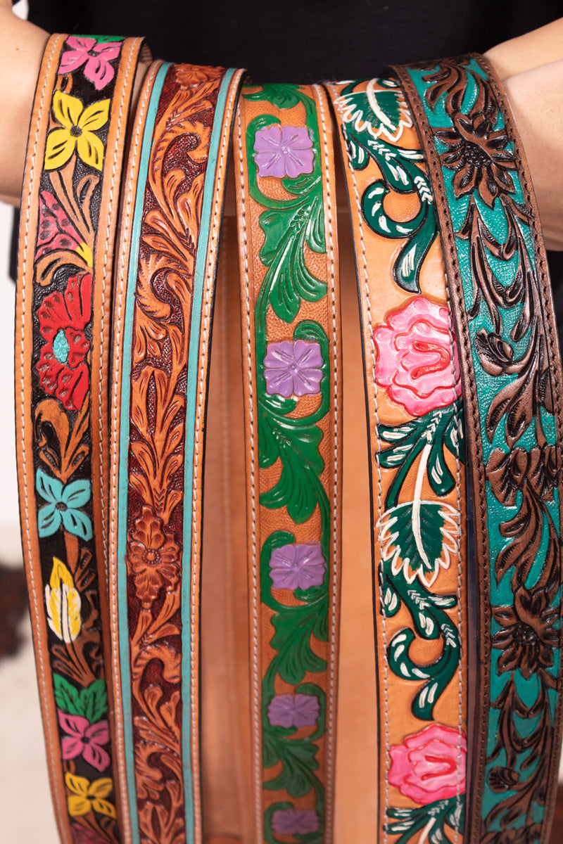 A True Queen Specialty Painted Purse Straps
