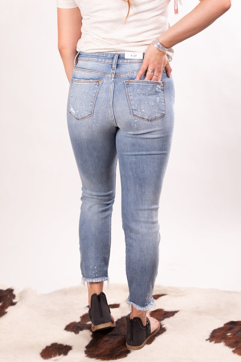 Here For The Party Judy Blue Denim Jeans