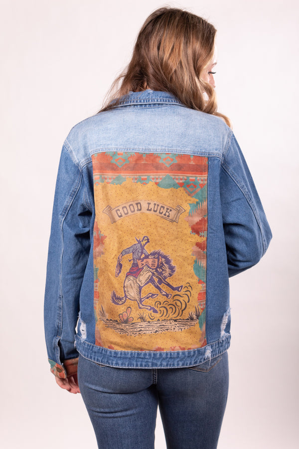 Good Luck Chuck Denim Jacket
