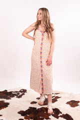 Farmers Market Embroidered Maxi Dress