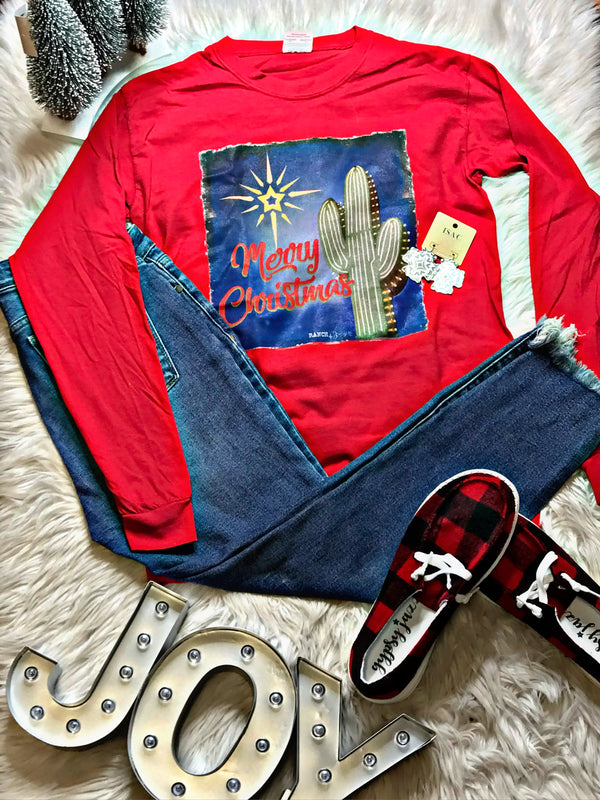 Arizona Christmas Long Sleeve Tee