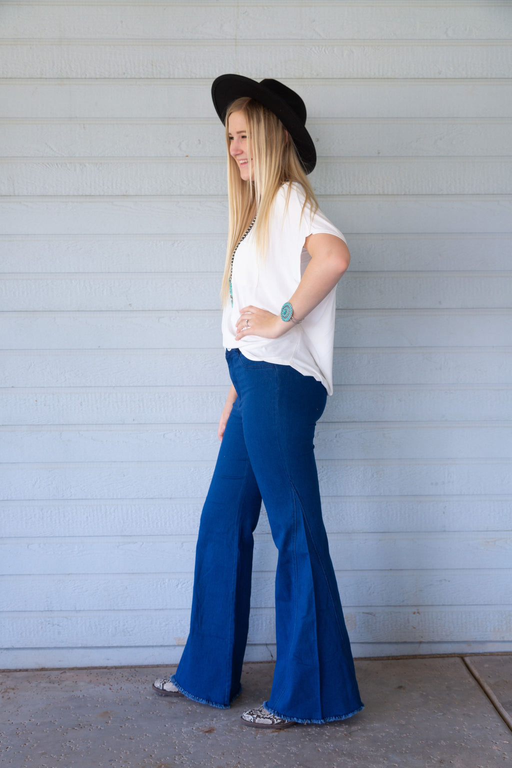 Far Out Wide Leg Denim Bell Bottoms