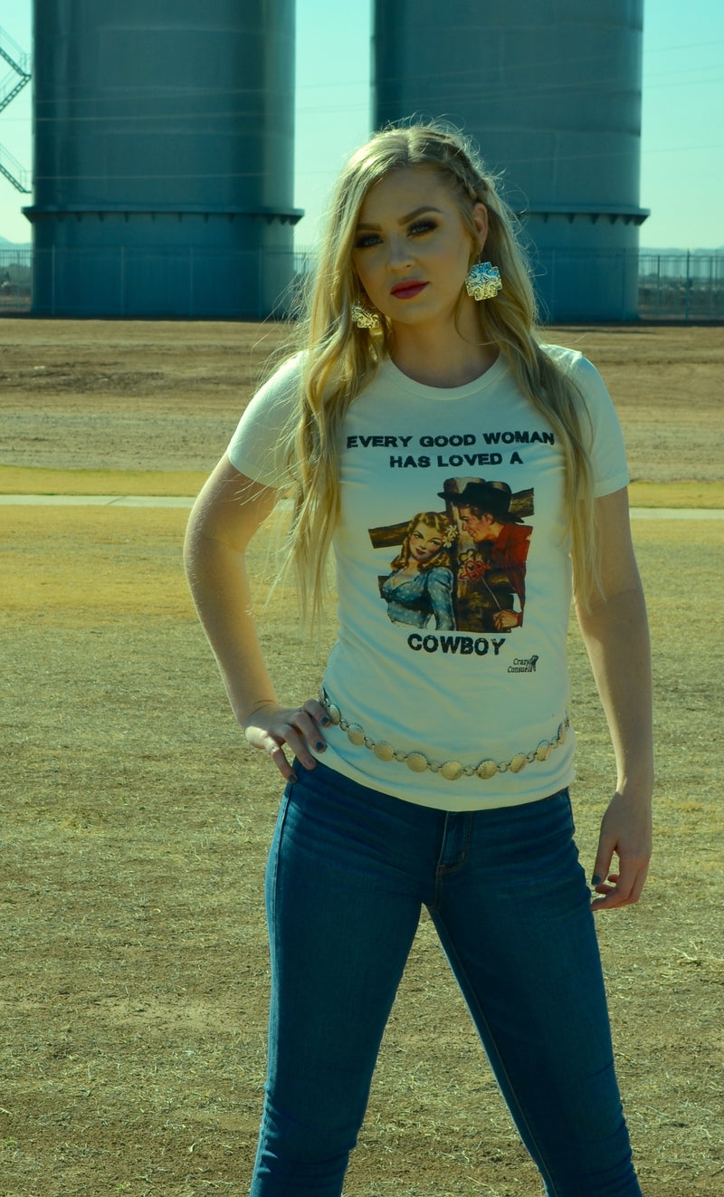 Loved A Cowboy Tee