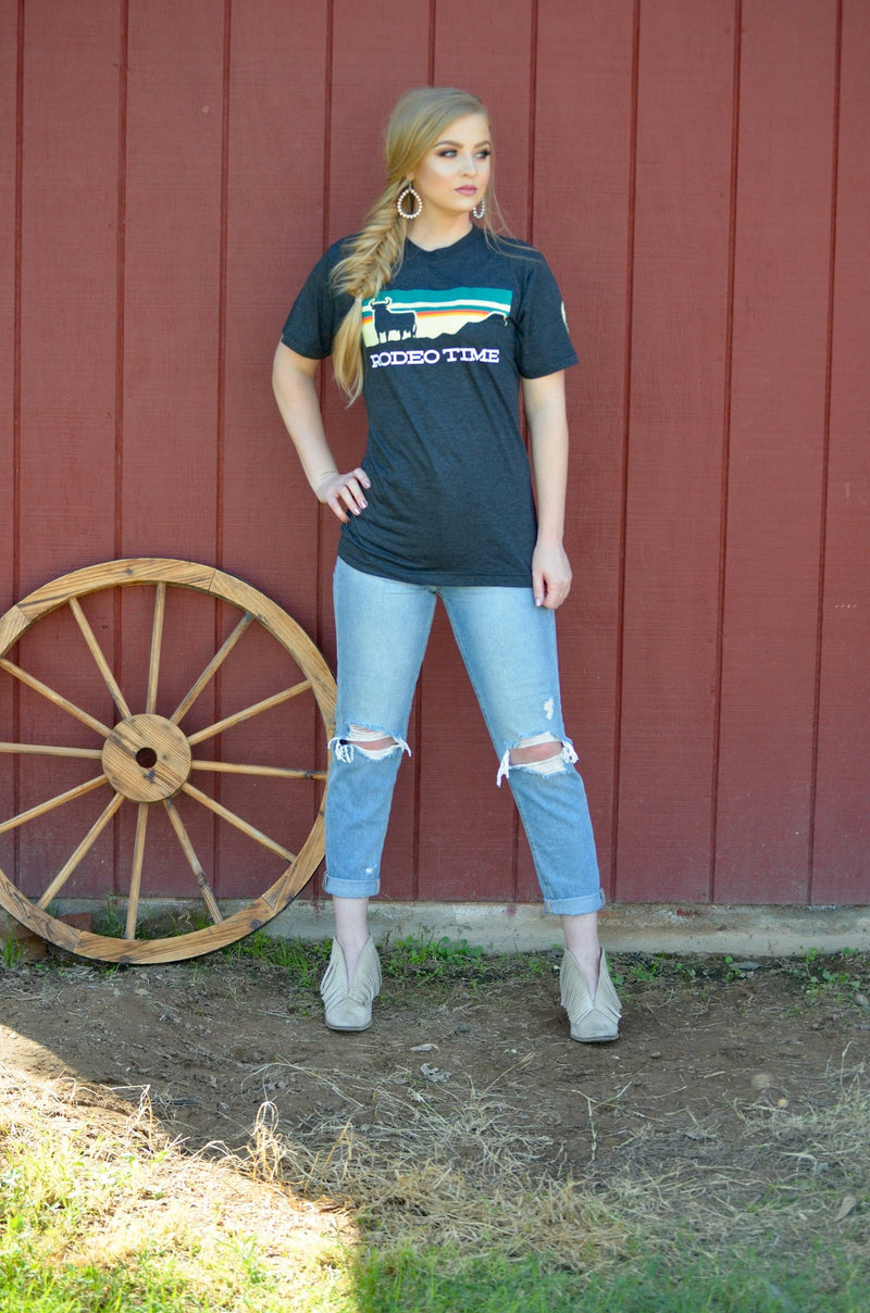 Dale Brisby's Sunset Rodeo Time Tee