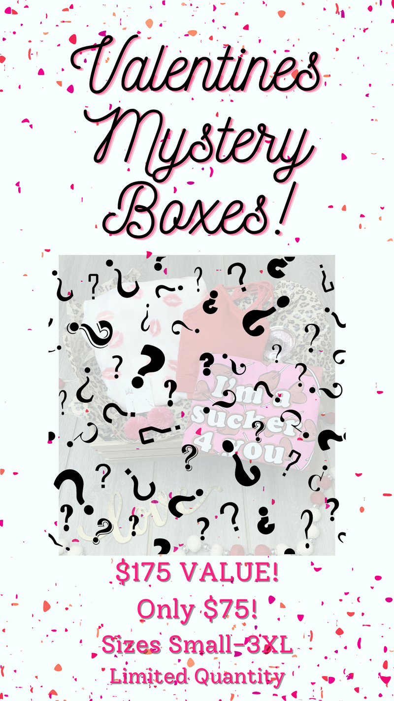 Valentine's Day Mystery Box!