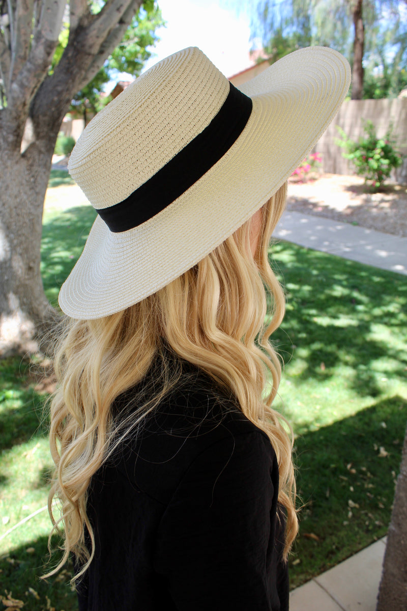 Ivory Vacation Hat