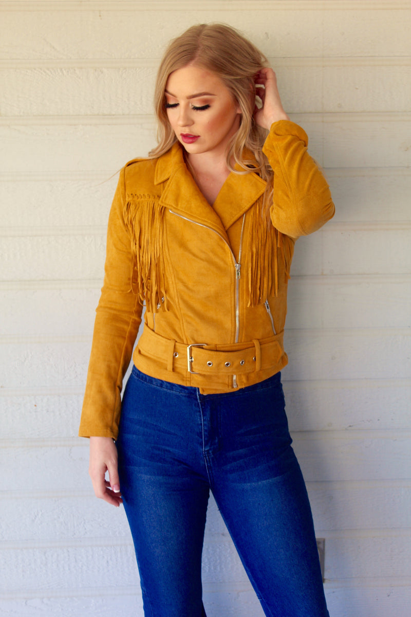 Fringed Up Jacket