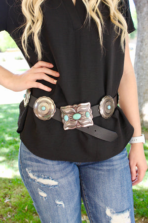 Turn and Burn Concho Belt