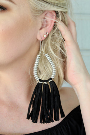 Midnight Rio Grande Fringe Dangles
