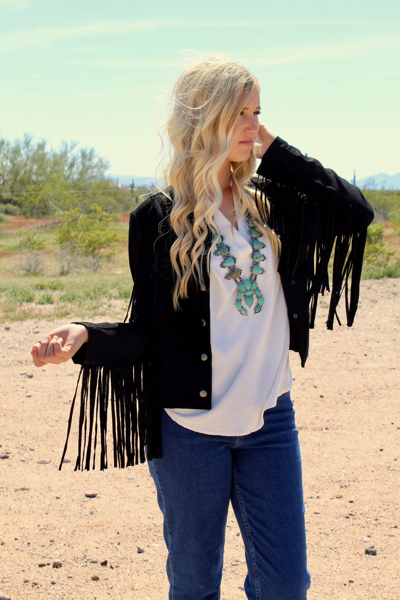 Night Rider Fringe Jacket
