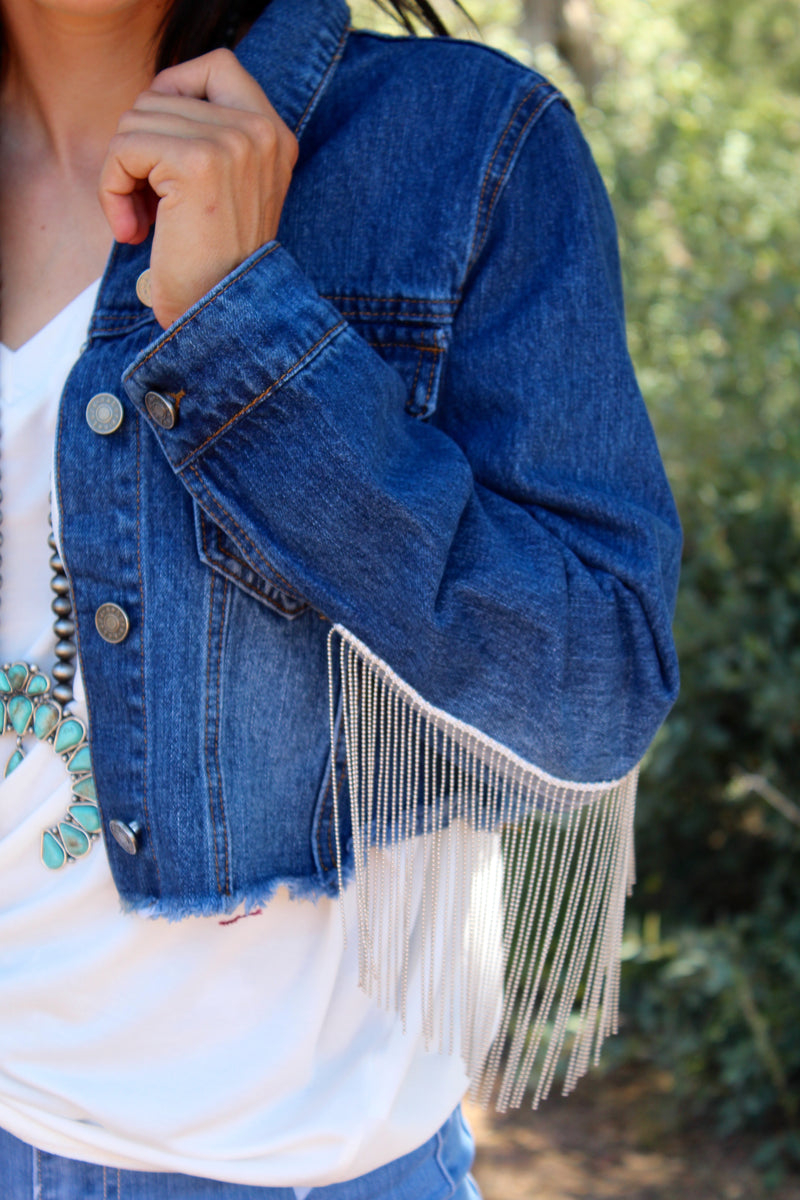 Go Shorty Fringe Jacket