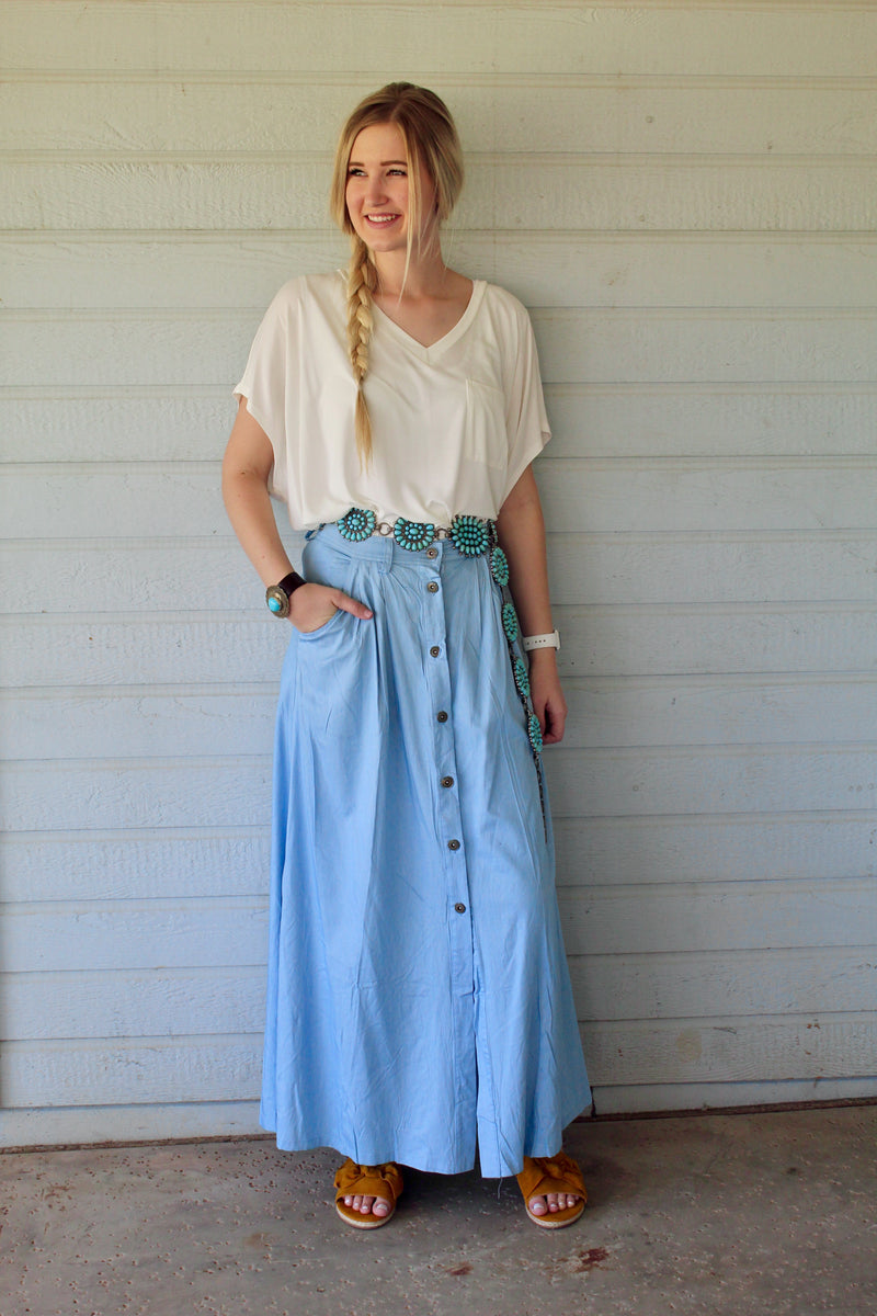 Thelma and Louise Maxi Skirt