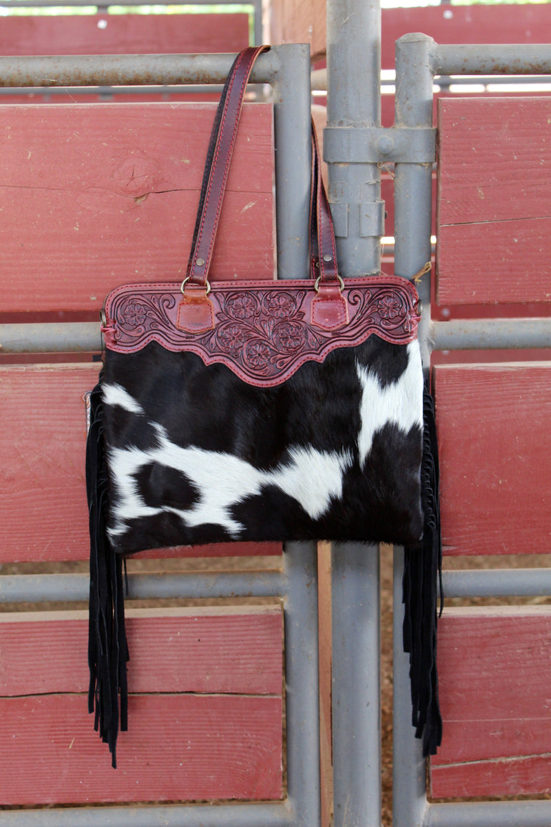 Cowboy Small 2 Fringed Out Purse