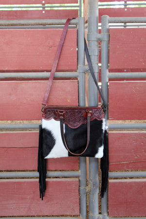 Cowboy Small 3 Fringed Out Purse