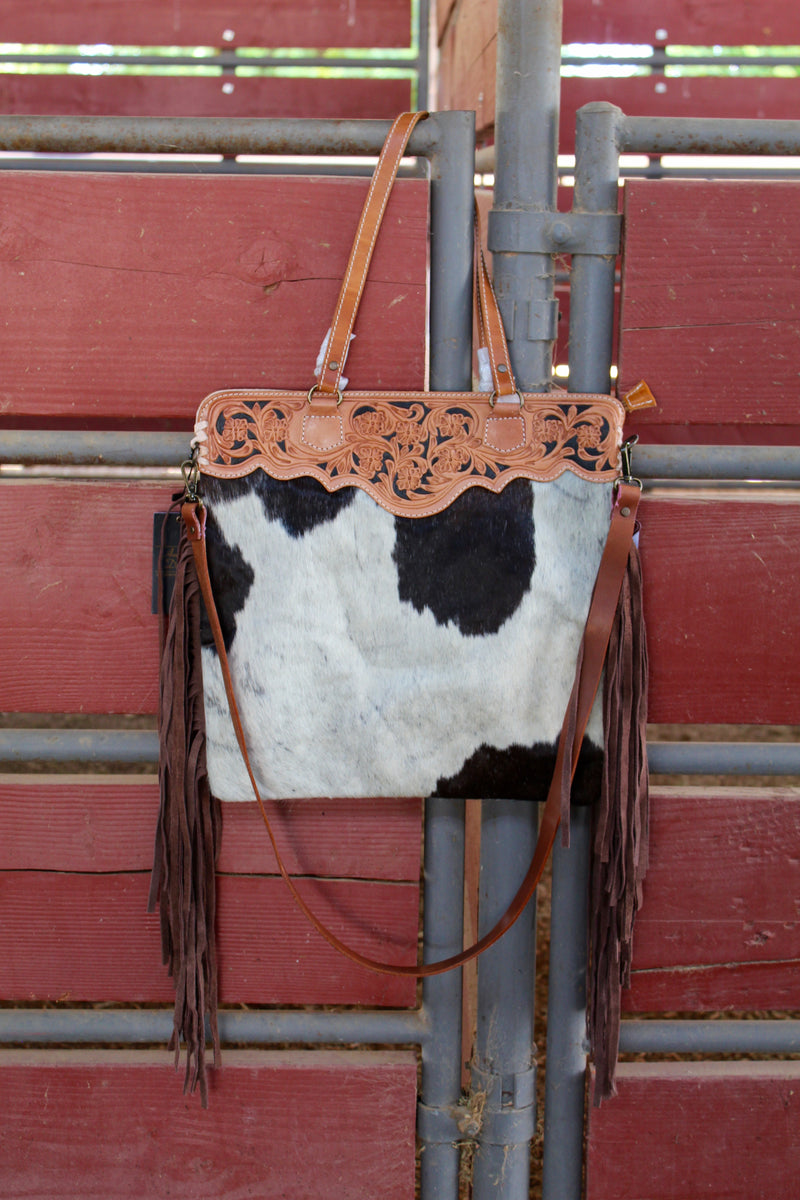 Rodeo Ready Fringed Out Purse