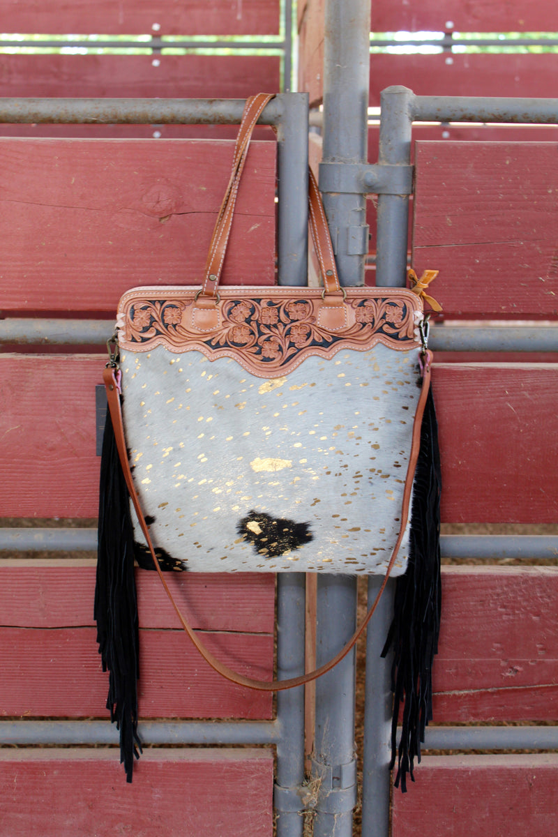 Friday Night Lights 2 Fringed Out Purse