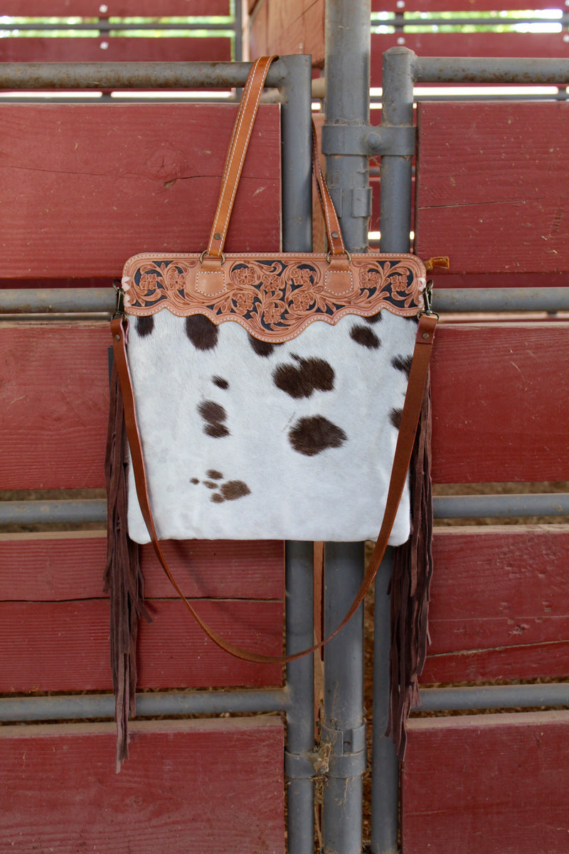 Rodeo Ready 3 Fringed Out Purse