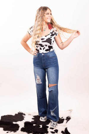 The Betty Fitted Trouser Jeans