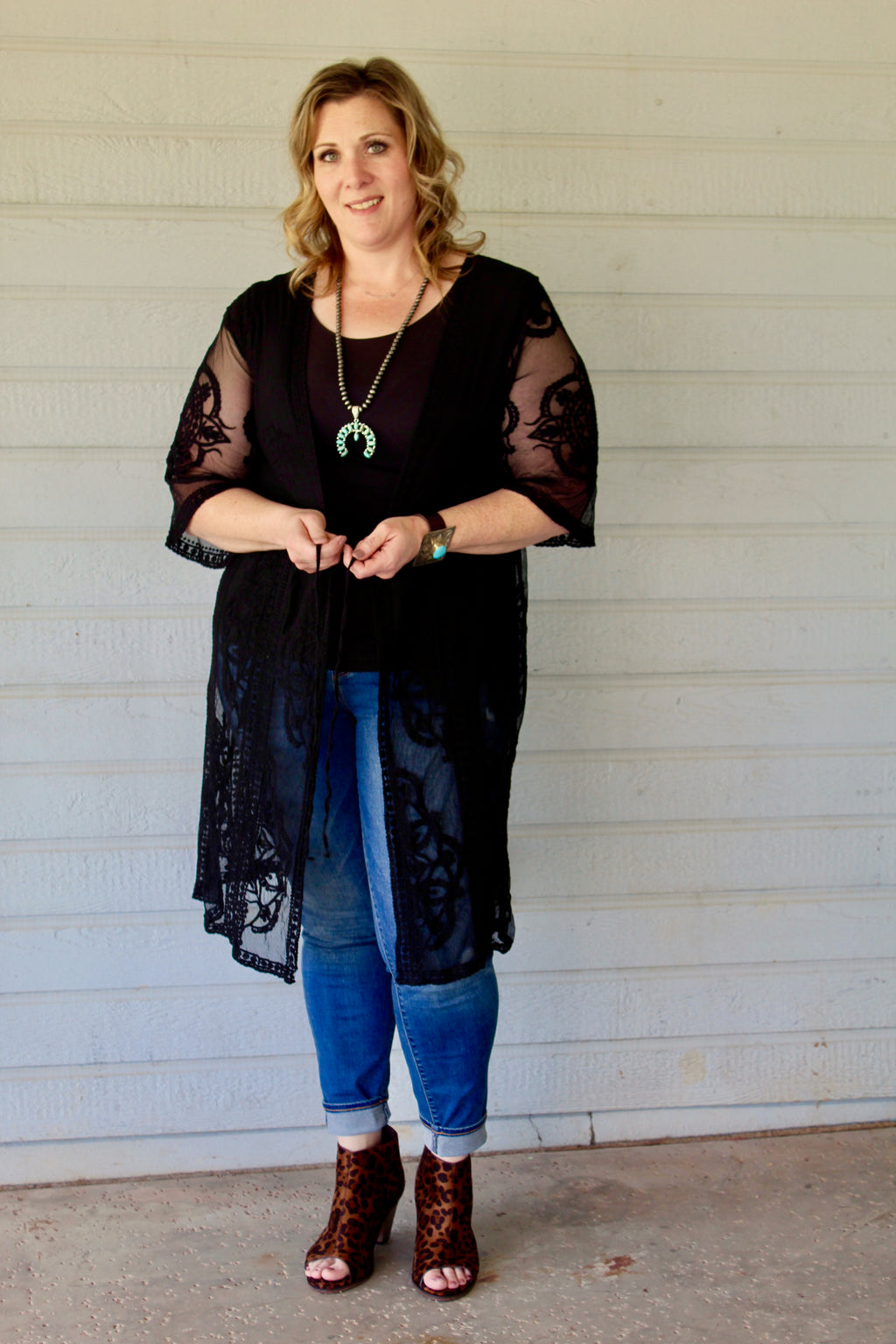 Plus Size Haylee Duster