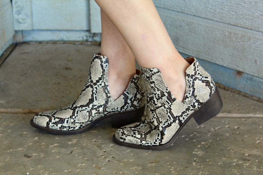 Python Chronicle Booties