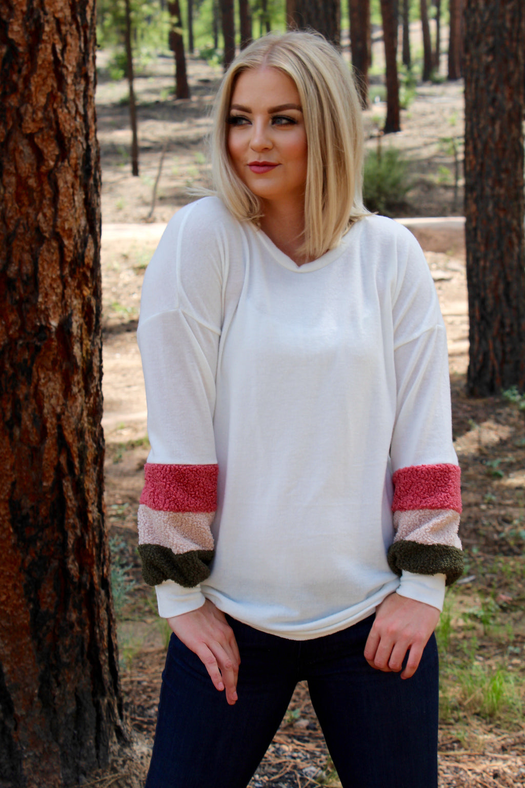 The Aspen Long Sleeve Top
