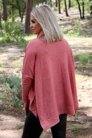 The Katie Turtle Neck Tunic Sweater Top