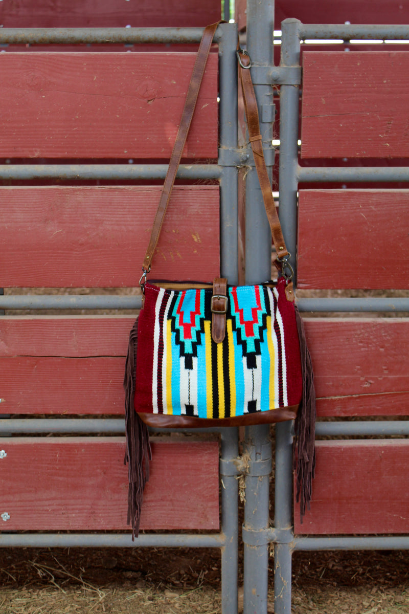 Sweet Child Of Mine Fringe Saddle Bag