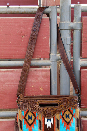 The Reno Saddleblanket Fringe Purse