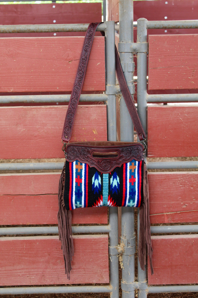 The Tucson Saddleblanket Fringe Purse