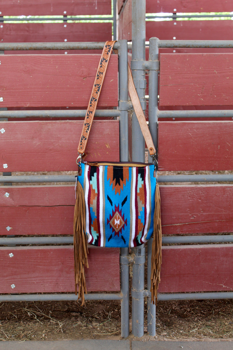 Homeward Bound Fringe Saddle Bag