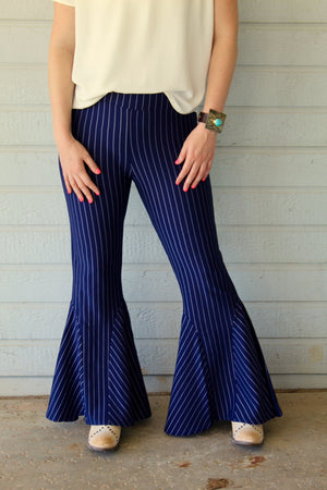 Pinstripe Bell Bottoms