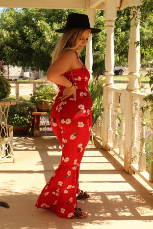 Oahu Bell Bottom Jumpsuit