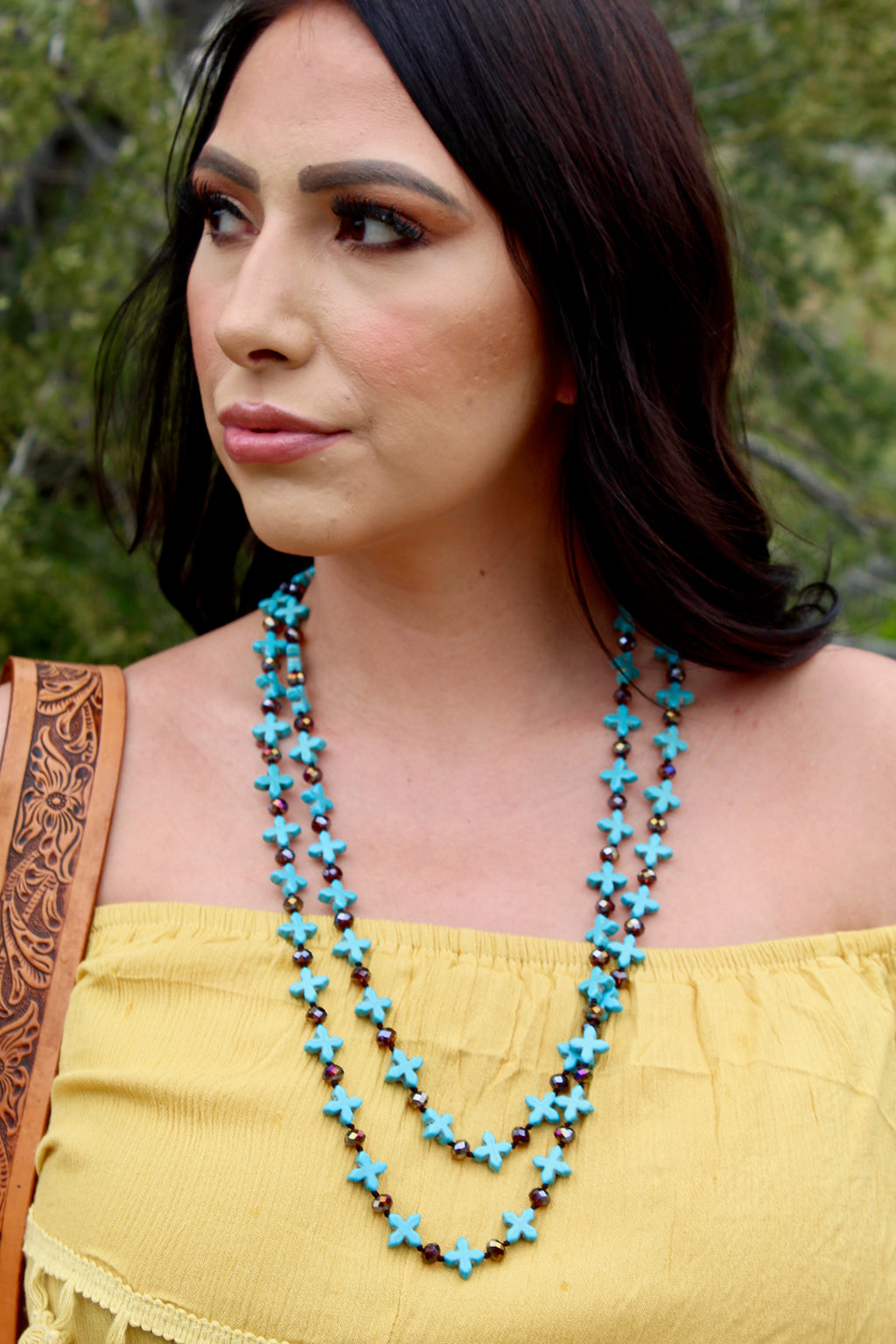 Beaded Aztec Necklace Set