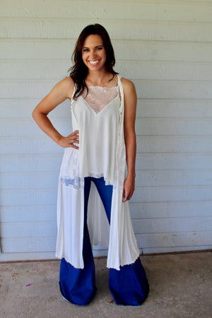 Bohemian Queen Duster Top