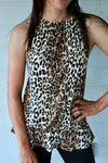 Lovely Leopard Halter Top