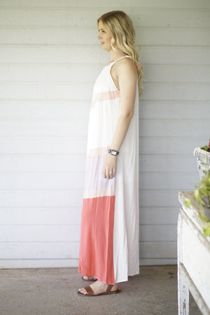 Chevron Dolly Maxi Dress