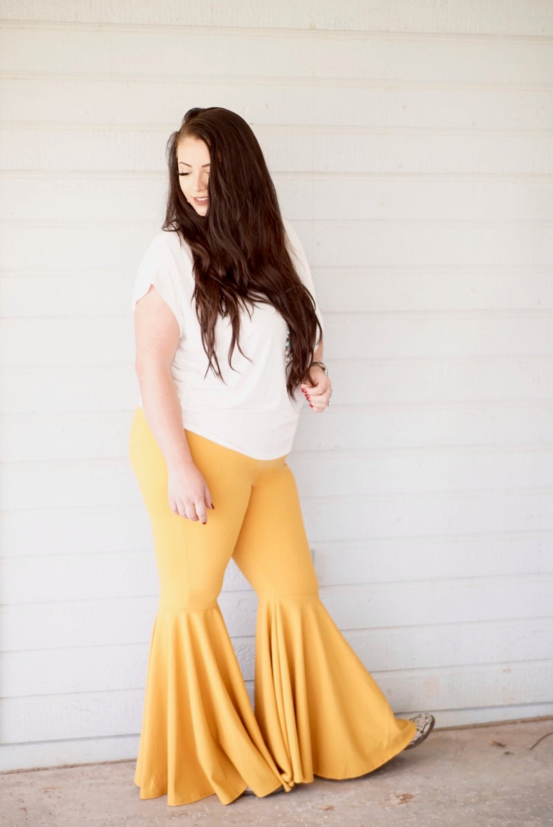 Mustard Mermaid Plus Size Bells