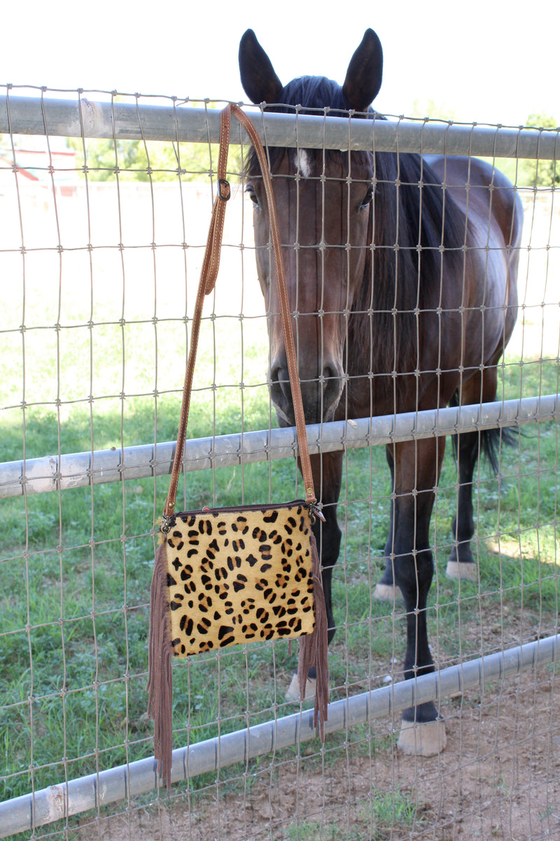 Cheetah Girls Fringed Crossbody Purse